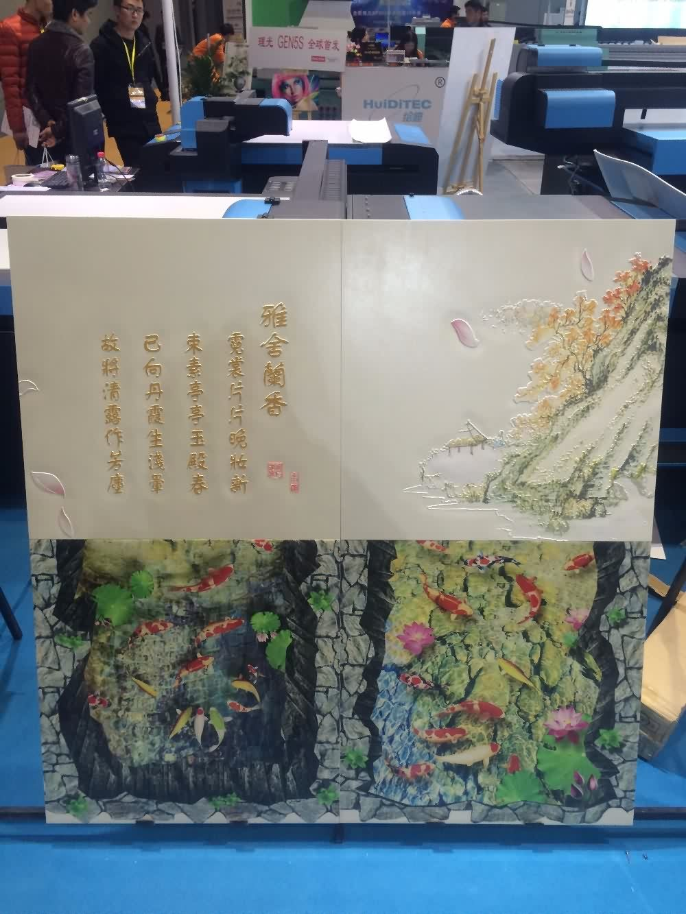 Top Suppliers CO-UV1313 UV FLATBED PRINTER for PVC ceiling Board to Adelaide Manufacturer