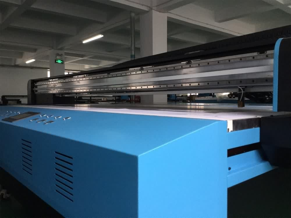 New Delivery for CO-UV2030 industrial UV Flatbed printer with GEN5 printhead for Jersey Manufacturer