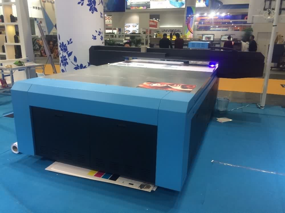 19 Years Factory COLORIDO Large format 2X3M UV flatbed printer to Israel Importers