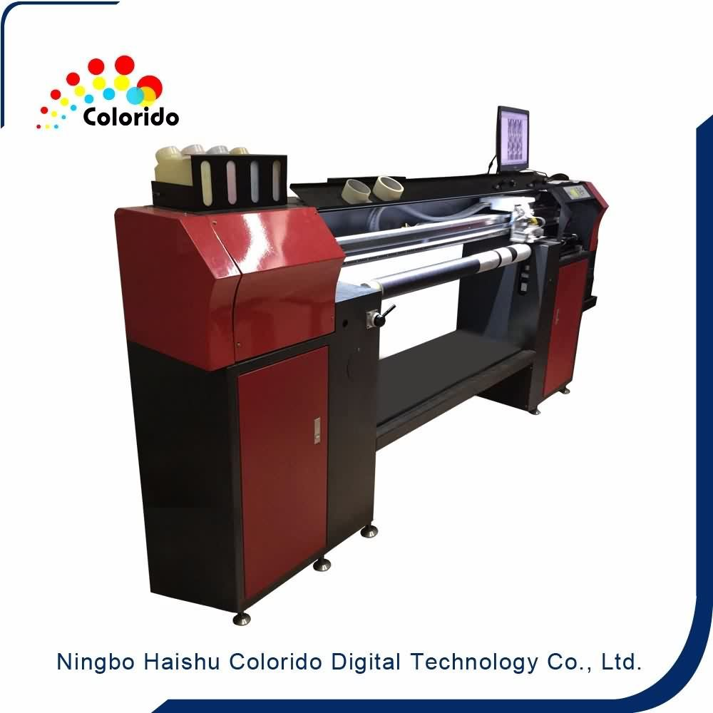 Continuous roller seamless digital printer