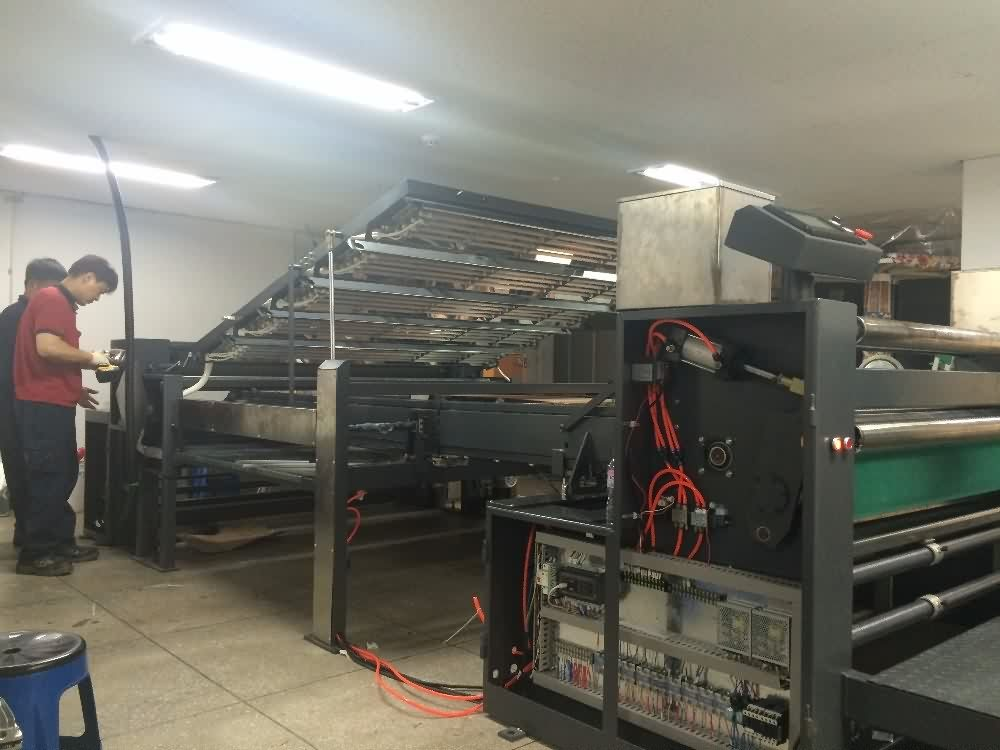 Best Price on  cotton fabric coating machine Supply to Cyprus