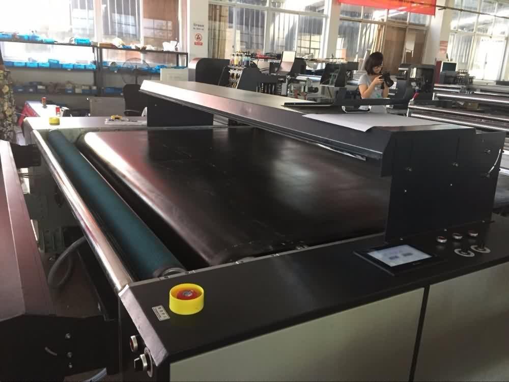 Digital fabric printer textile printer with belt feeding system