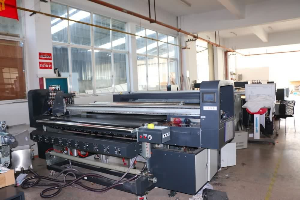 Quality Inspection for Digital fabric printer textile printer with belt feeding system for Qatar Factories