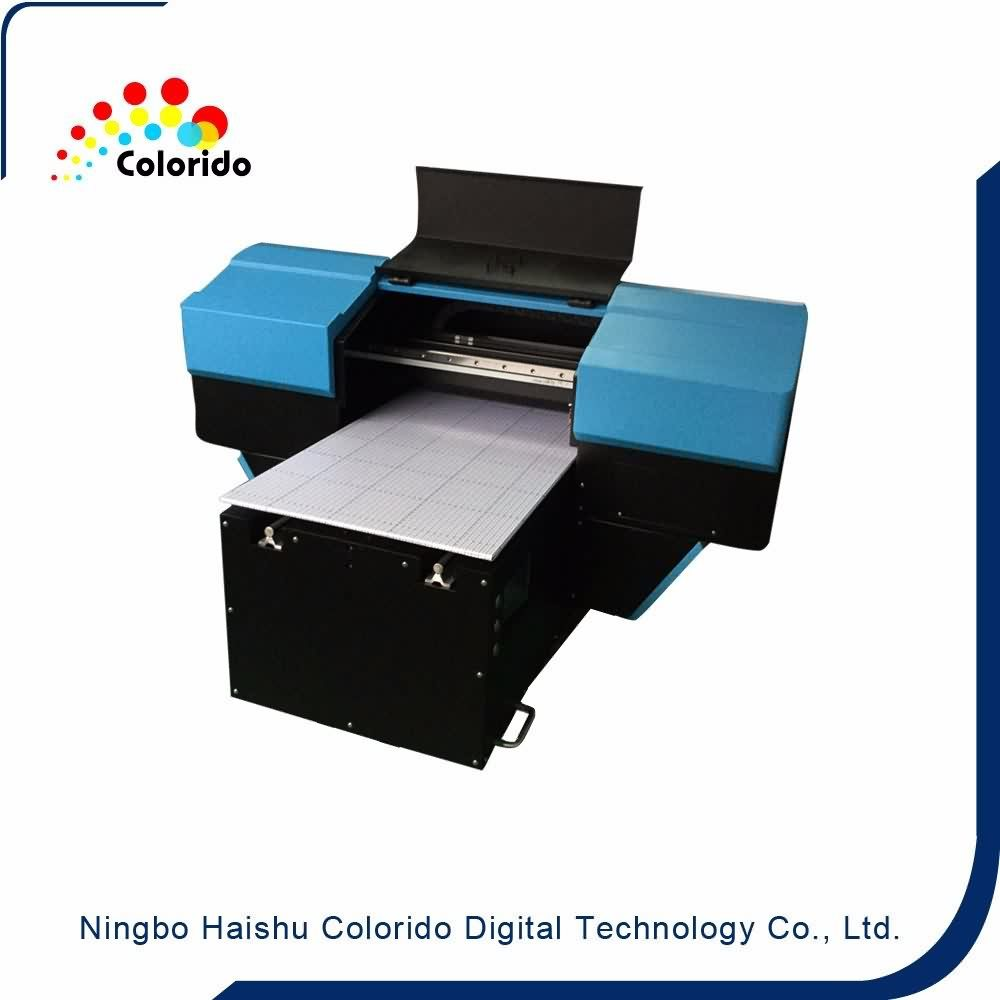 Hot sale reasonable price Digital inkjet gen5 uv flatbed printer Wholesale to Sierra Leone