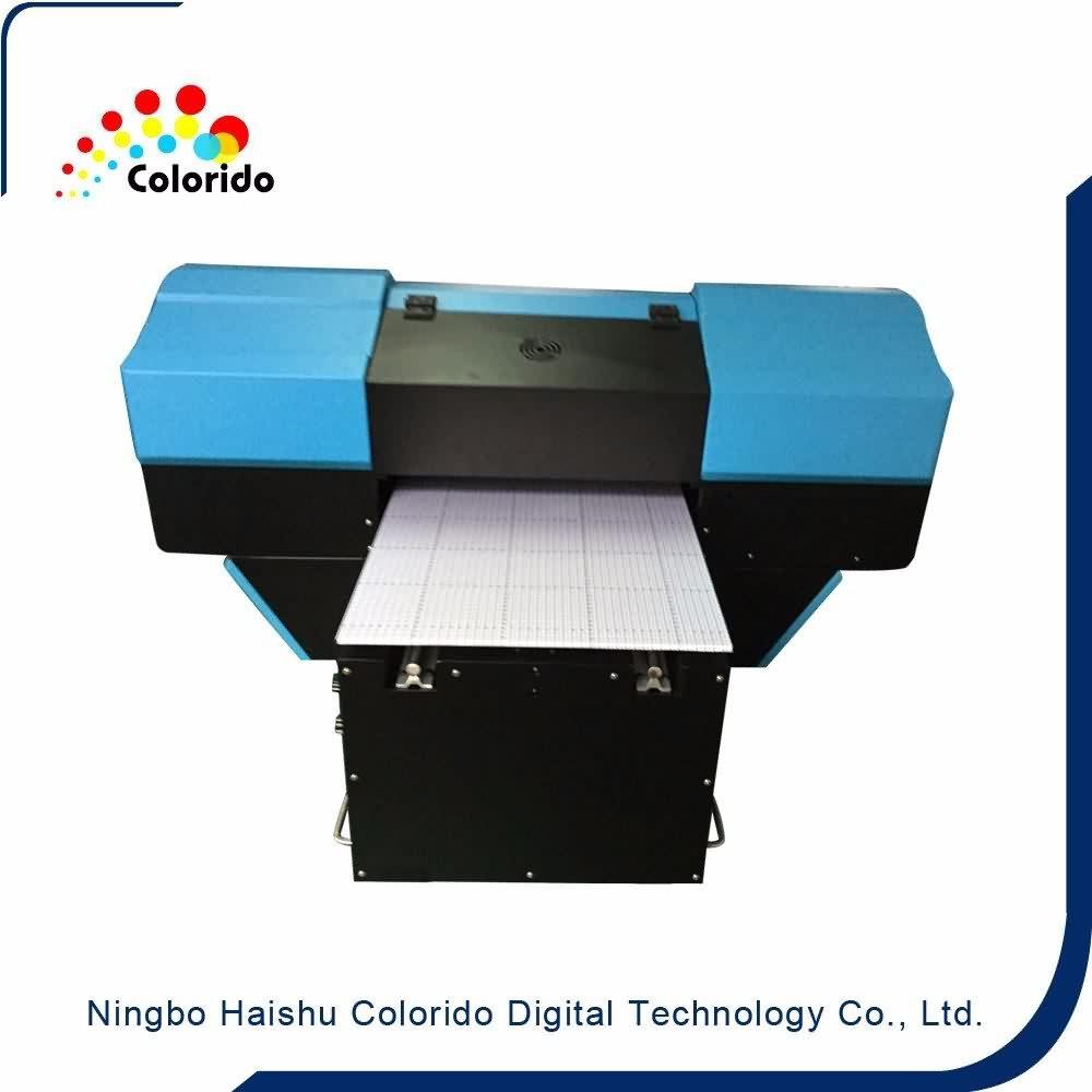 24 Years Factory Digital inkjet gen5 uv flatbed printer Wholesale to The Swiss