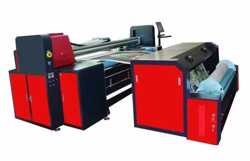 Digital Sublimation textile printer for embroidered fabric