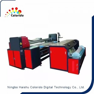 Direct printing on Lace Embroidery fabric printer