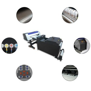 2021 New Offset Printing Transfer Technology DTF Printer PET Film DTF Printer DTF Powder Machine with Double i3200 Printhead