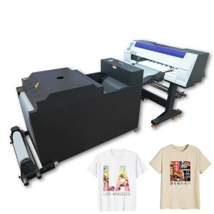 Factory Direct Sale New Garment Heat Transfer Solution Double Industrial i3200 Heads DTF Printer for T-shirts Hoodies Aprons Bag