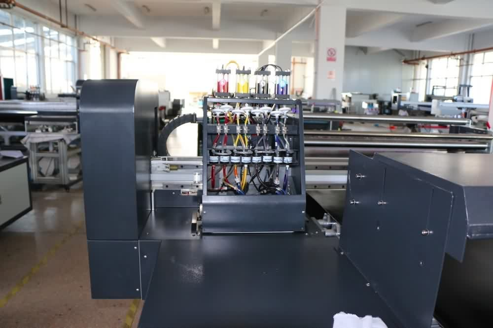 Flatbed Digital Roll Meter Printer Textile fabric printer