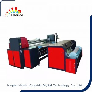 High Efficiency Embroidery Printing Machine With Scanning System