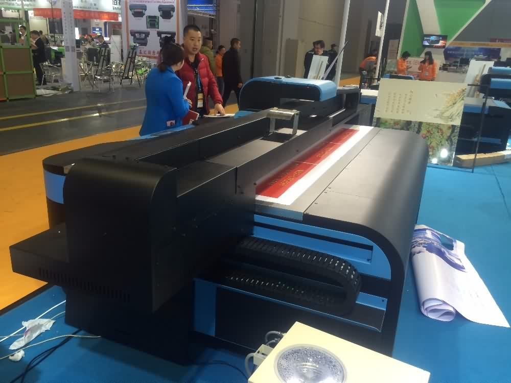 factory customized High efficiency inkjet UV flatbed printer UV2513 Export to Mecca