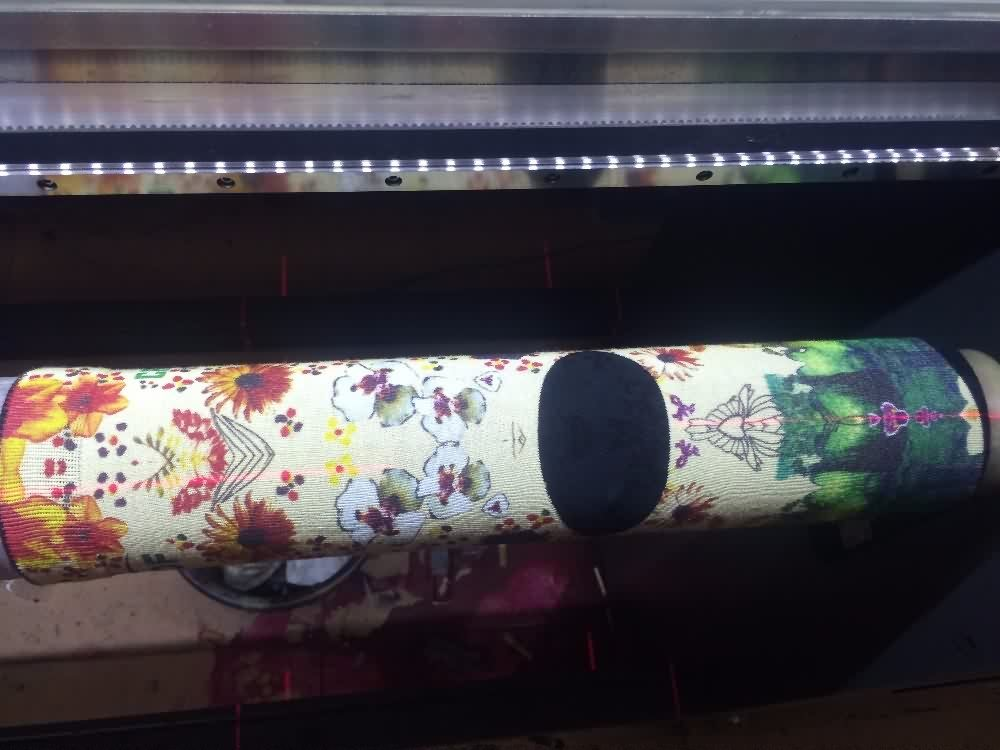 High quality socks fabric rotary printing machine for sale