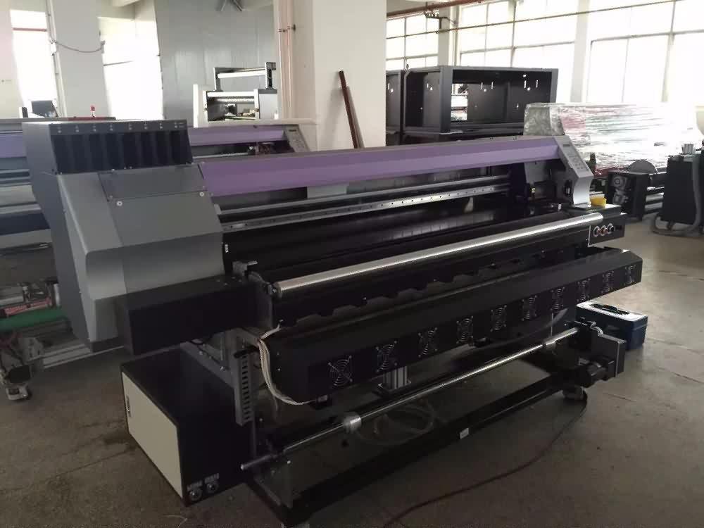 impresora textile belt type fabric printing machine with DX5 head detail pictures