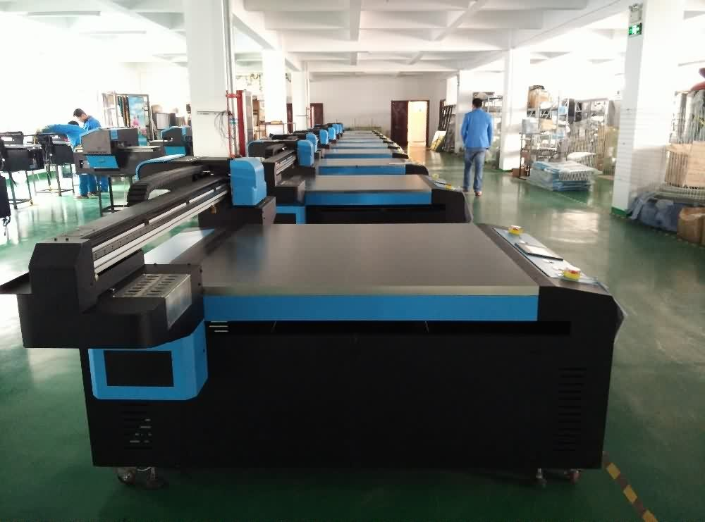 Industrial Digital Flatbed UV Printer for Acrylic / Glass/ Phone case/ Ceramic Printing Machine UV2513