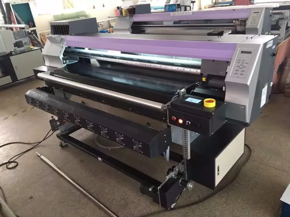 Multicolor direct to fabric DX5 Belt digital Inkjet Textile Printer