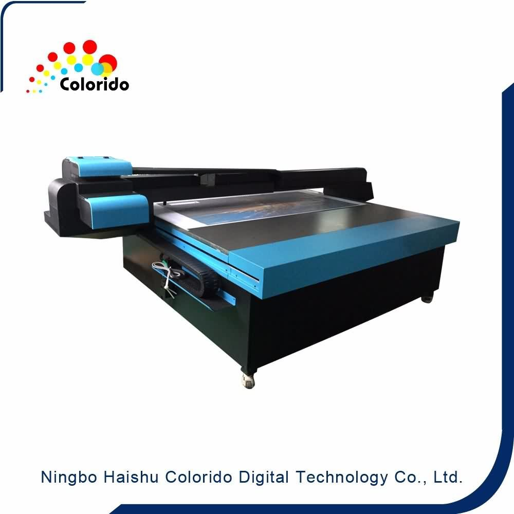 Best quality and factory New condition Industrial UV Flatbed printer, UV2030 Flatbed printer with imported LED LAMP for Thailand Factory
