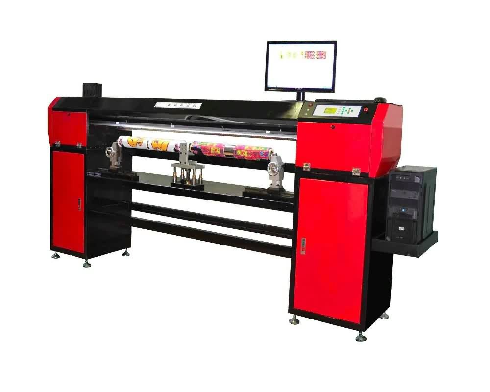 new developed 4socks Rotary Digital Textile inkjet Printer