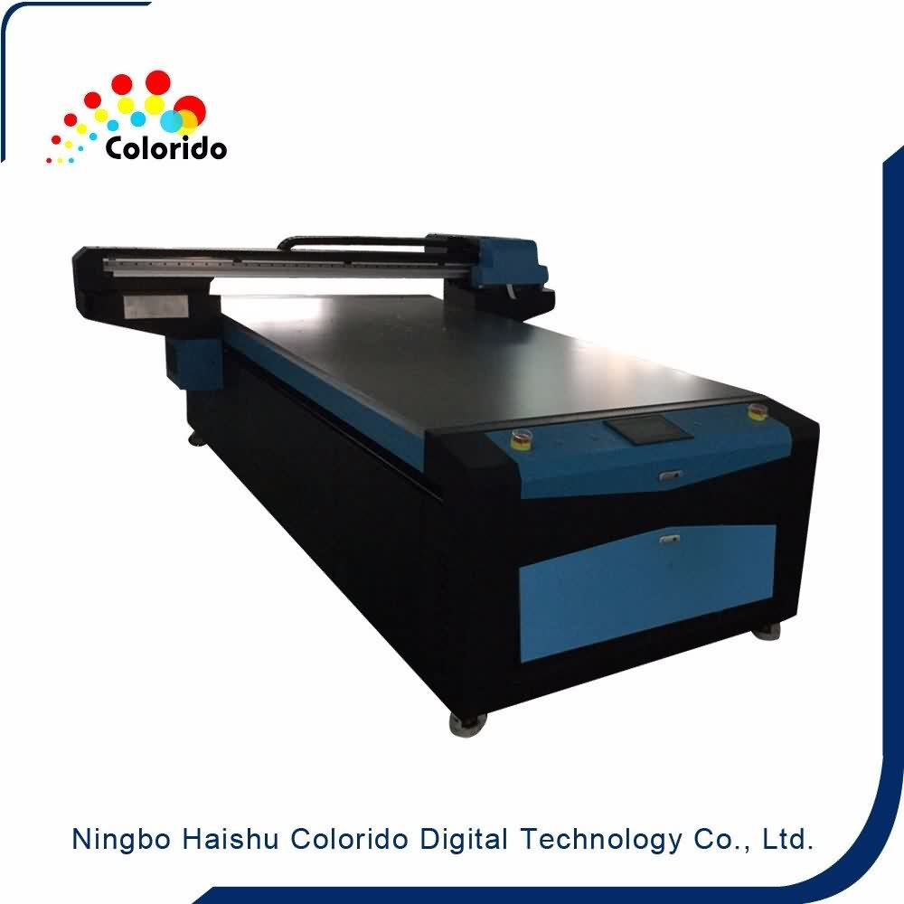 High Performance  New model two DX7 heads inkjet flatbed UV1325 LED Digital printer Wholesale to Eindhoven