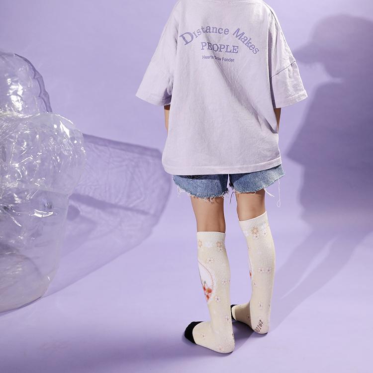 3D Young Girls Tube Socks Knee High, Socks Kids Girls Featured Image