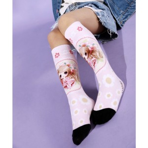 Long Warm Tube Girls School Children Socks, Girls Dresses Socks