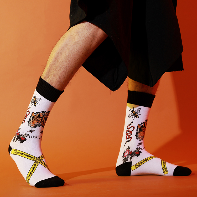 Wholesale Cartoon Print Socks From China, Socks For Cycling Featured Image