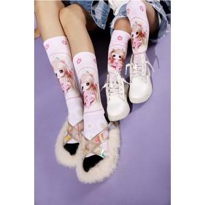 Basketball Teenagers Sublimated Sports Socks Custom Logo, Socks Factory In China
