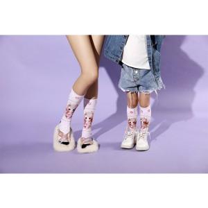 2020 Best Selling Cheap Custom Winter Cute Cotton Long Women Socks