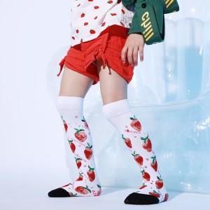 Autumn Long Cozy Women Socks Cute Cotton, Long Socks For Women