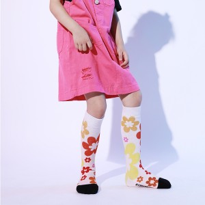 Custom-Made 3D Cartoon Cute Young Girl Tube Socks, Socks Girl
