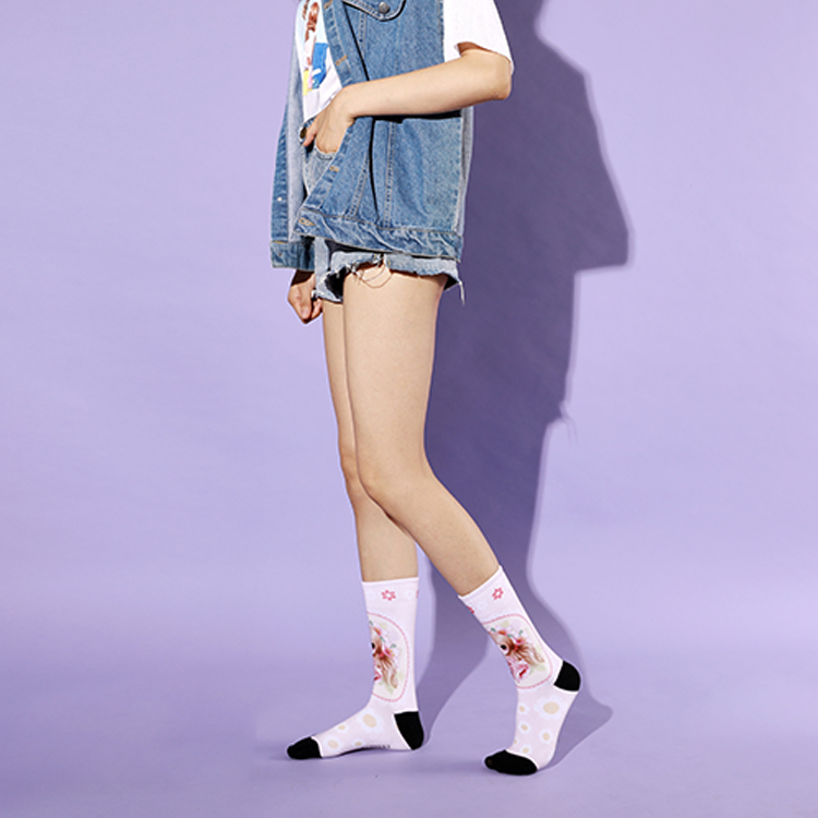 Custom Dress Cozy School  Socks Featured Image