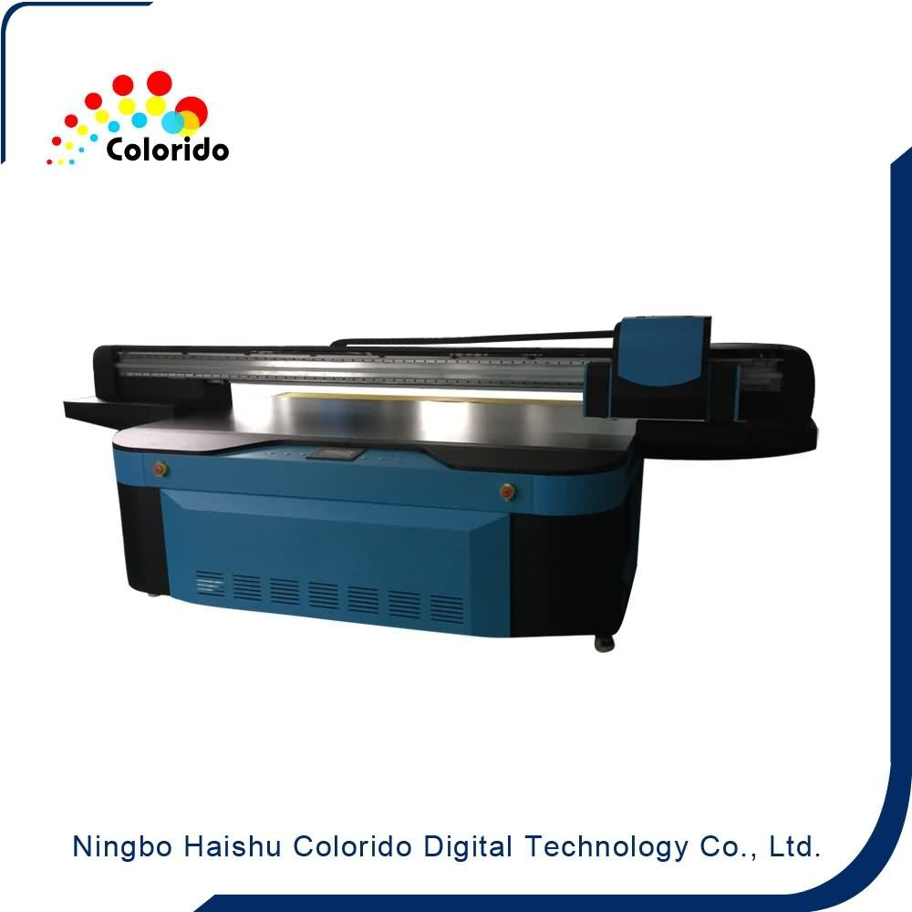 Factory directly provided Practical UV2513 CE certificated UV Flatbed inkjet Printer to US Manufacturer