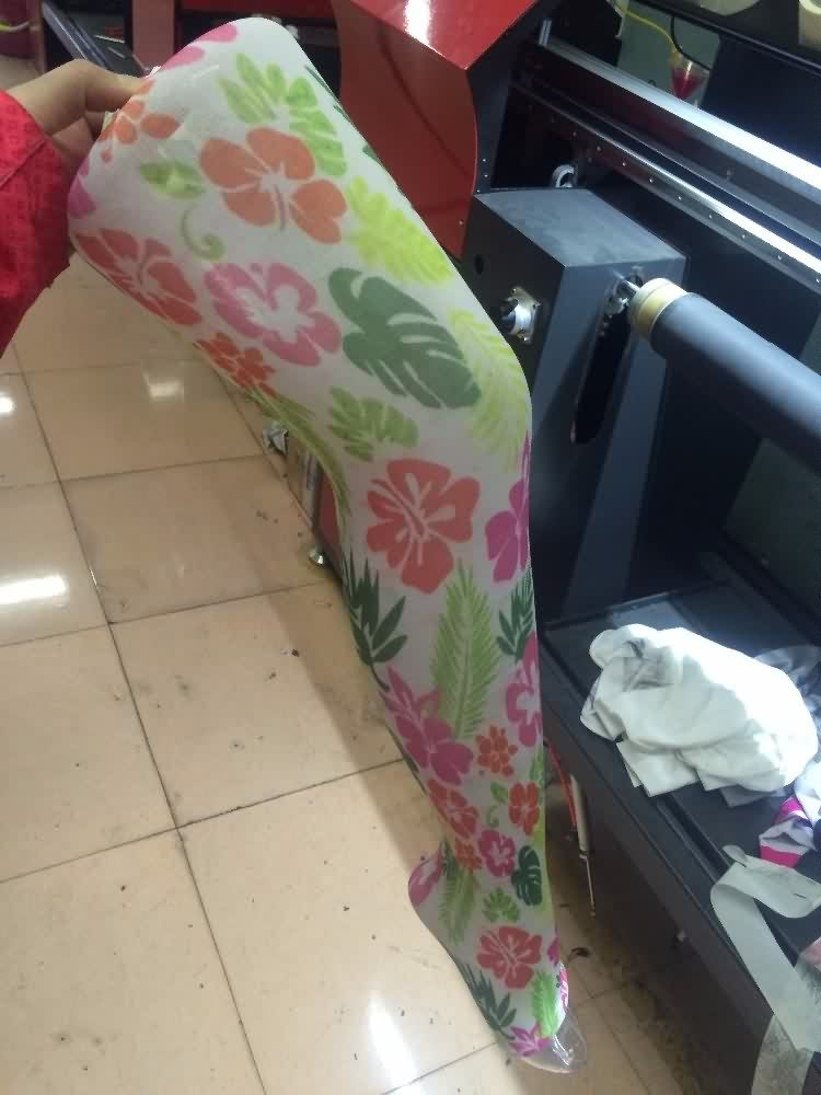 11 Years Manufacturer Rotary Seamless socks Digital Textile inkjet Printer for Rwanda Factories