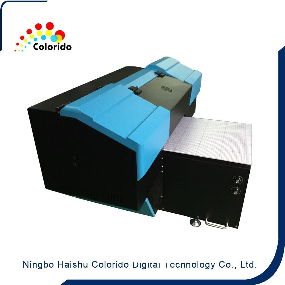 Professional High Quality Small format UV flatbed printer Wholesale to Afghanistan detail pictures