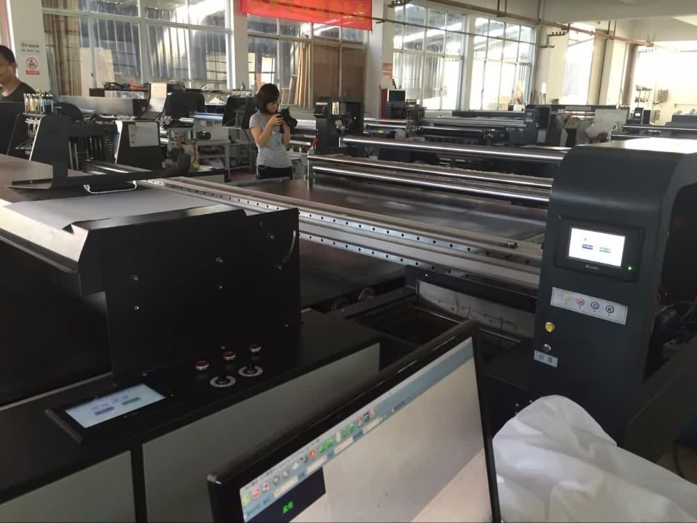 Star fire head Belt type Textile plotter for direct printing all kinds fabrics