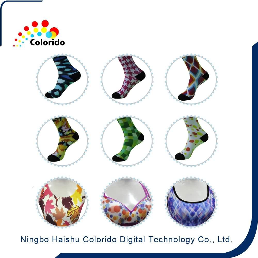 Factory Cheap The Most popular sports socks textile inkjet plotter for Belgium Manufacturers