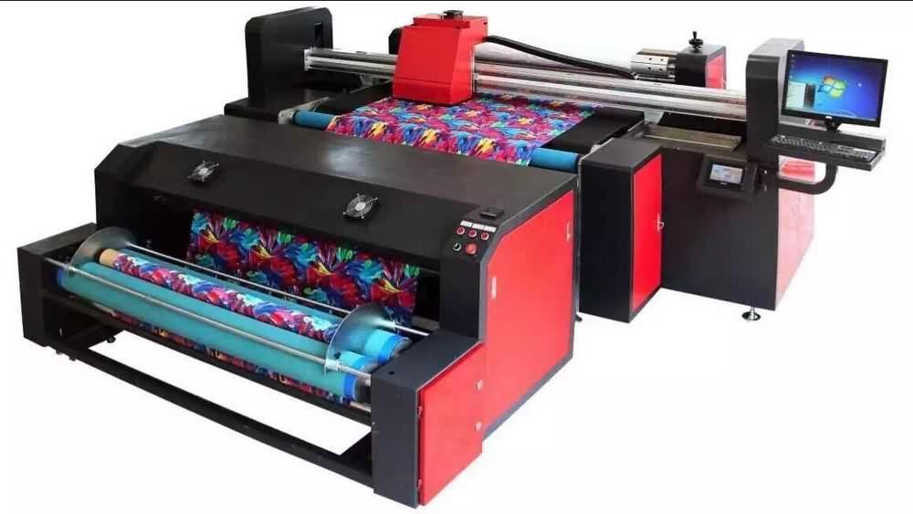 Digital Inkjet Printing : Digital inkjet printer localization printing machine