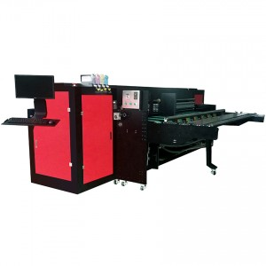 Corrugates box inkjet printer